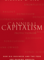 Autographed 1st Edition of Cannibal Capitalism